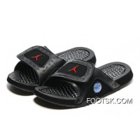 Air Jordan Hydro 13 Slide Sandals Black/Gym Red 2016 Online