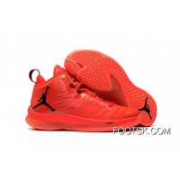 Cheap Jordan .Fly 5 X Red/Black Super Deals