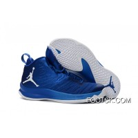 Jordan Super.Fly 5 Game Royal Blue/White Men's Basketball Shoe New Style FsZfZ