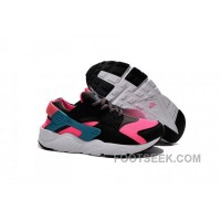 NIKE AIR HUARACHE KIDS BLACK PINK