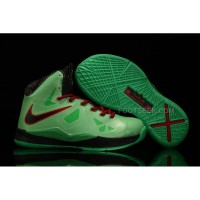 Nike Lebron 10 Kids Shoes China Limited Edition Green