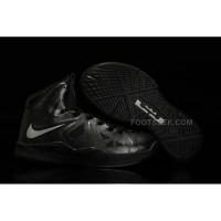 Nike Lebron 10 Kids Shoes Black