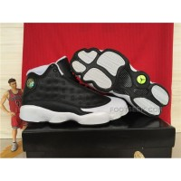 Air Jordan 13 Oreo Custom Ecentrik Artistry Black And White For Sale Hot