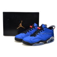 Air Jordan 6 (VI) Retro Low Eminem Custom Blue Black Red Cheap