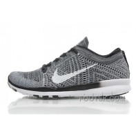 2015 Release Nike Free Flyknit 5.0 Knit Vamp Mens Running Shoes Grey Black New Style