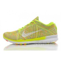 2015 Release Nike Free Flyknit 5.0 Knit Vamp Mens Running Shoes Orange Yellow New Style