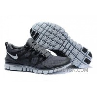 Mens Nike Free 3.0 V3 Charcoal Grey/White Running Shoes Best