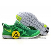 Mens Nike Free 3.0 V3 Lucky Green/Volt Running Shoes New Style