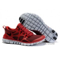 Mens Nike Free 3.0 V3 Wine/Gym Red Running Shoes For Sale