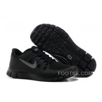 Nike Free 5.0 Mens All Black Running Shoes Online
