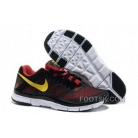 Nike Free Trainer 3.0 Men's Training Shoe Hyper Red Volt Black New Release
