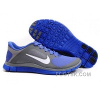 Mens Nike Run 4.0 V3 Grey Violet Running Shoes Free Shipping