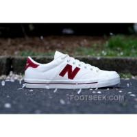 New Balance Pro-Court Canvas PROCTSAC White Red
