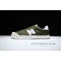 New Balance Pro-Court Canvas Military Green White