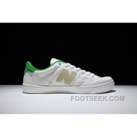 New Balance Pro-Court Canvas PROCTGR White Green Tail