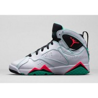Air Jordan 7 Retro GS Verde White Black Verde Infrared 23705417 138 Mens Shoes