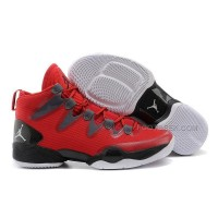 Air Jordan 28 Red Black Shoes Features Whole Foot Zoom Sneaker Men