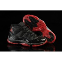 Air Jordan Shoes 11 High State Classic Black Red