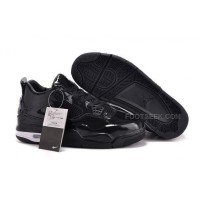 Air Jordan 11LAB4 Black Patent Mens Basketball Shoes AJ LAB Collection