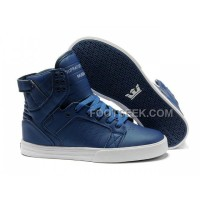 New Arrival Supra Skytop All Blue Men's Shoes