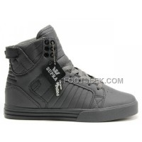 New Arrival Supra Skytop All Grey Men's Shoes