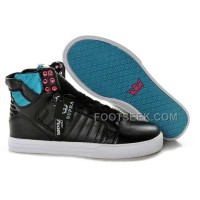 New Arrival Supra Skytop Black Blue Red Men's Shoes