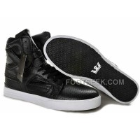 New Arrival Supra Skytop II All Black Men's Shoes