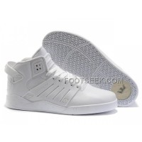 New Arrival Supra Skytop III All White Men's Shoes