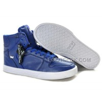 New Arrival Supra Vaider Blue White Men's Shoes