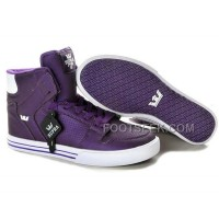 New Arrival Supra Vaider Purple White Men's Shoes