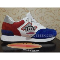 New Balance 670 Men Blue Red Cheap