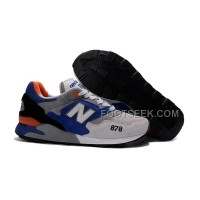 New Balance 878 Men Grey Blue Cheap