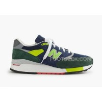 New Balance 998 Men Green Blue Cheap