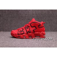 For Sale Nike Air Channels More Uptempo Be Pippen Big Air | Jordan 3 Red Black | 138-600