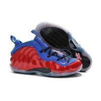 New Sneakers Nike Air Foamposite One Red Blue Cheap Sale Discount