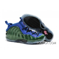 Cheap To Buy Nike Air Foamposite One Green Blue