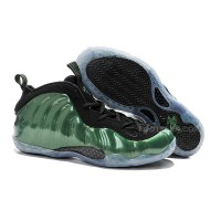 "Buy Cheap Nike Air Foamposite One ""Metallic Green"" Green Black Discount"