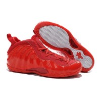 """Buy Cheap Nike Air Foamposite One """"Red Devil"""" Custom All Red Discount"""