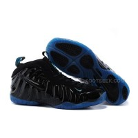 Buy Cheap Nike Air Foamposite Pro Black-Black/Royal Blue Online Discount