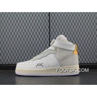 Acw Street Fashion Brand To Be A Cold Wall X Air Force 1 Acw Samuel Ross Af1 One Mid Top Acw Sneakers White Sallowness Aq5644 Online