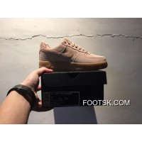Suede 35 Anniversary Powder Nike Air Force 1 Af1 Low Aa1117-600 Women Shoes And Men Discount