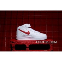 Nike Air Force 1 Mid White Top Super Deals
