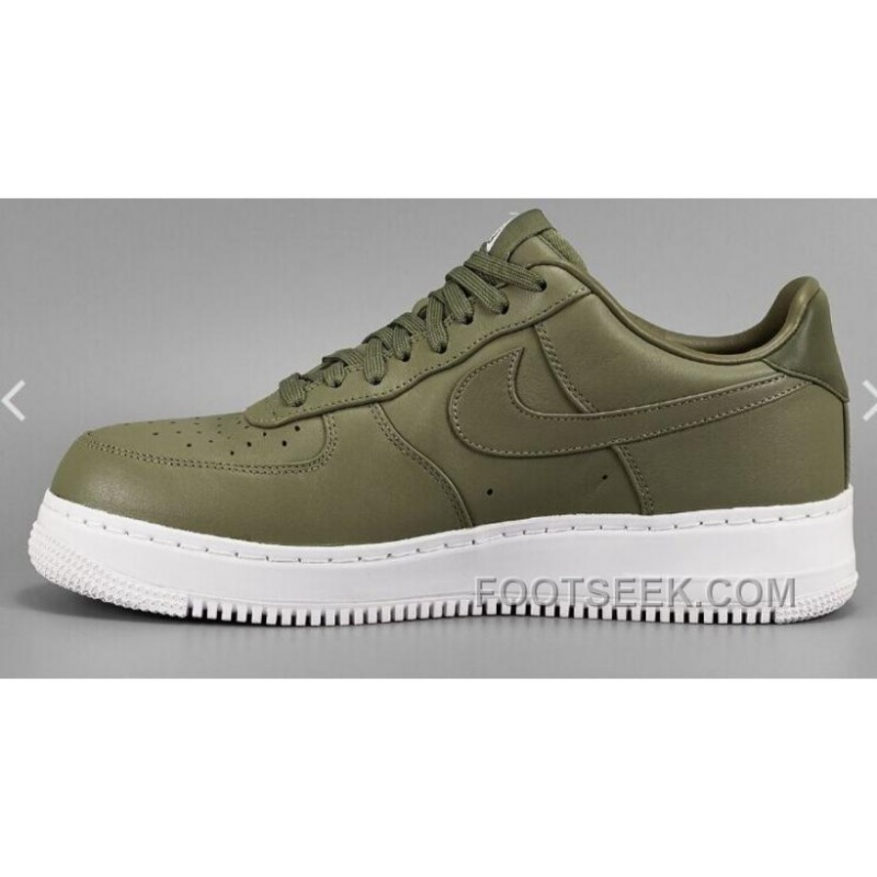 Nike Air Force One Vert Olive