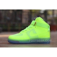 Air Force One X Givenchy Crystal Men Sneaker Neon Green For Spring
