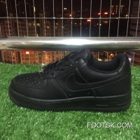 Nike Air Force One Classic Retro 1 07 Low Pure Black 315122-001 315115-315122 Best