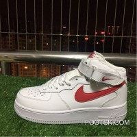 Nike Air Ce 1 Af1 Mid 07 One White Top Sneakers. 315123-126 For Sale