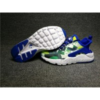Nike Air Huarache Womens Ultra Kjcrd Blue Green Yellow 818061-413 Cheap 2016