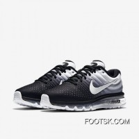 NIKE Air Max 2017 Flyknit Black And White Gradient Copuon Code