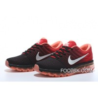 Nike Air Max 2017 Flyknit Red And Black Discount