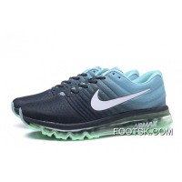 NIKE Air Max2017 Flyknit Men Green Blue Black New Style
